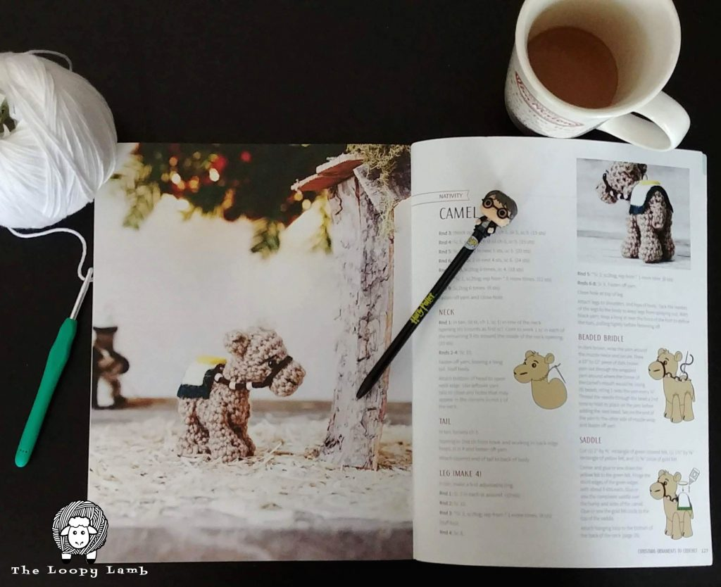 Christmas Ornaments to Crochet by Megan Kreiner - A Crochet Book Review by The Loopy Lamb