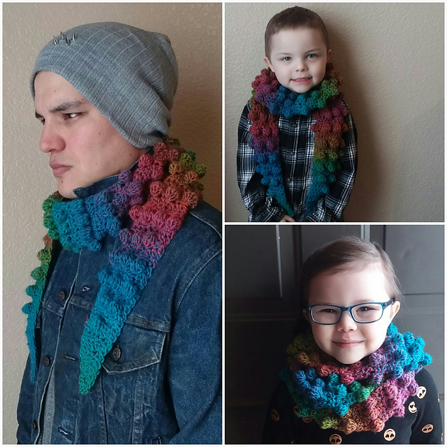Inclusivity Scarf by Osage County Crochet