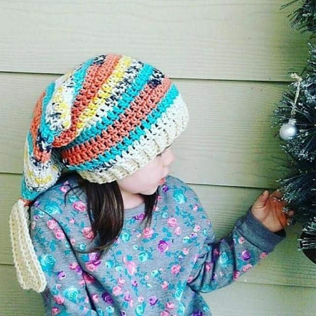 Slouchy Mermaid Hat by Osage County Crochet