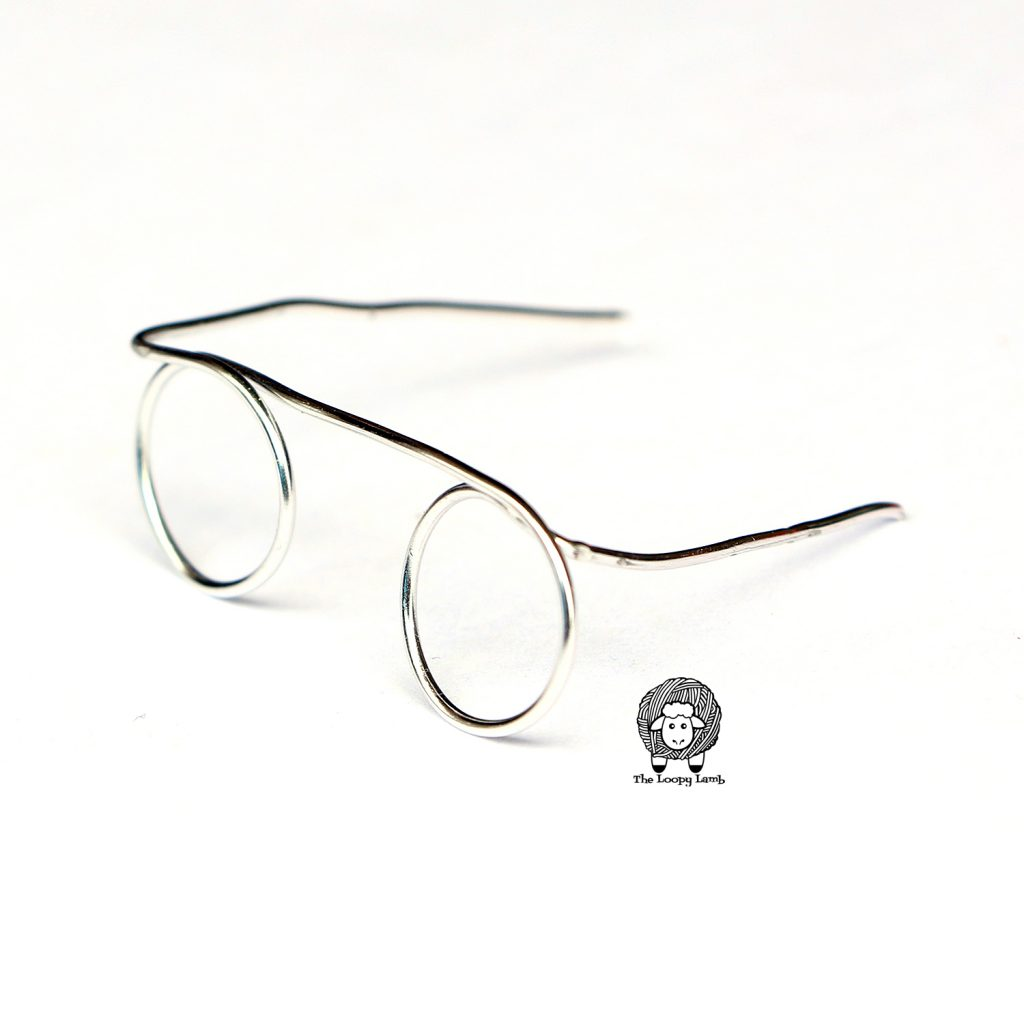 wire glasses for amigurumi