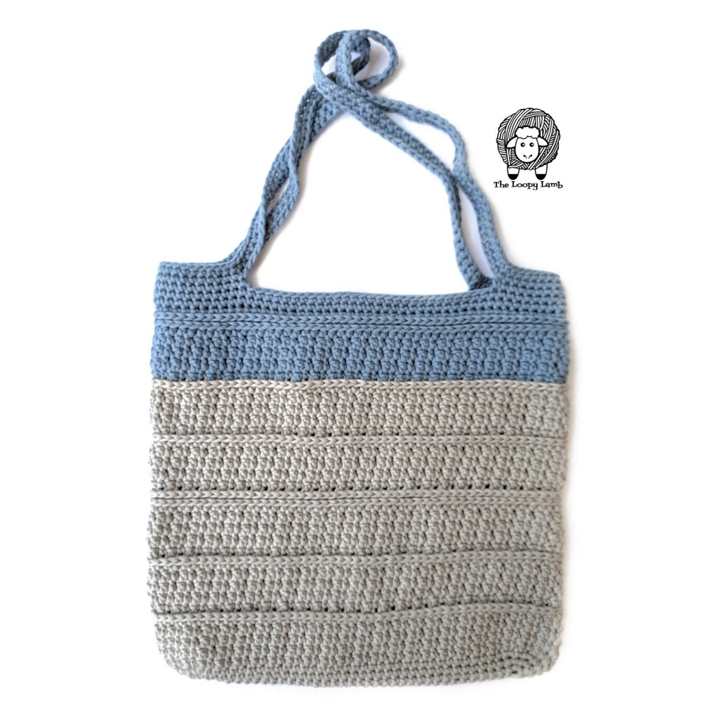Looking for a quick and easy tote bag pattern?  Looking for a cup cozy for regular or iced coffee that works up quickly but still has a lot of texture?  This free crochet pattern for the Elgin Tote and Cup Cozy from The Loopy Lamb is exactly what you're looking for.