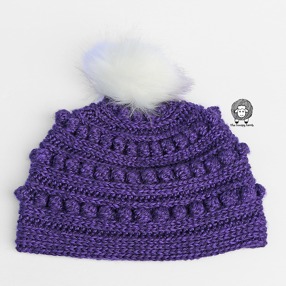 free crochet hat pattern for The Aeipathy Beanie by The Loopy Lamb
