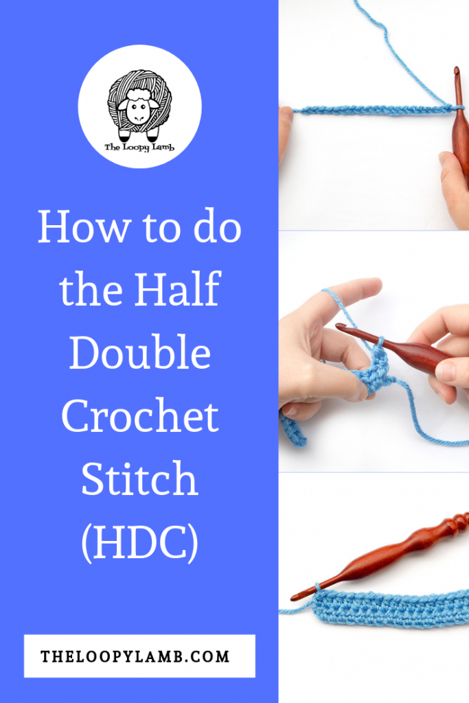 Want to learn how to half double crochet?  Check out the clear and simple step-by-step photo tutorial and learn to crochet half double crochet stitch.  #stitchtutorial #halfdoublecrochet #howto #learntocrochet #beginnercrochet #crochettutorial #hdcstitch #diy #crochet #phototutorial