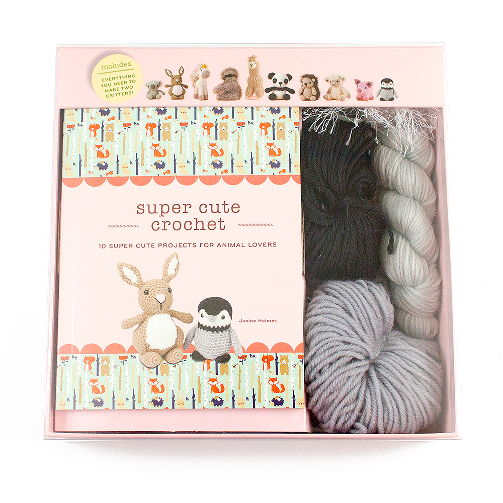 Super Cute Crochet Kit Image