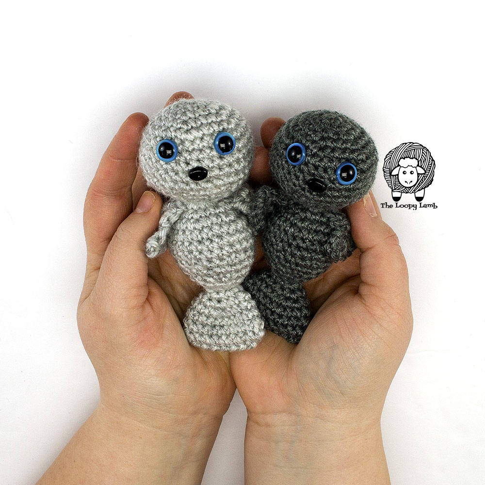 Crocheted Amigurumi Seal [FREE Crochet Pattern] | 1000x1000
