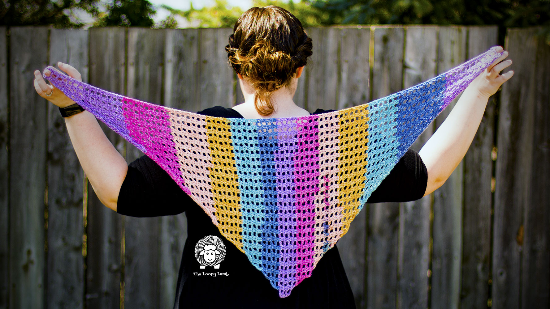 Spring Breeze Shawlette by Ashley @ The Loopy Lamb