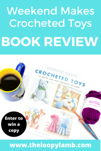 Weekend Makes: Crocheted Toys with a coffee, furls crochet hook and yarn