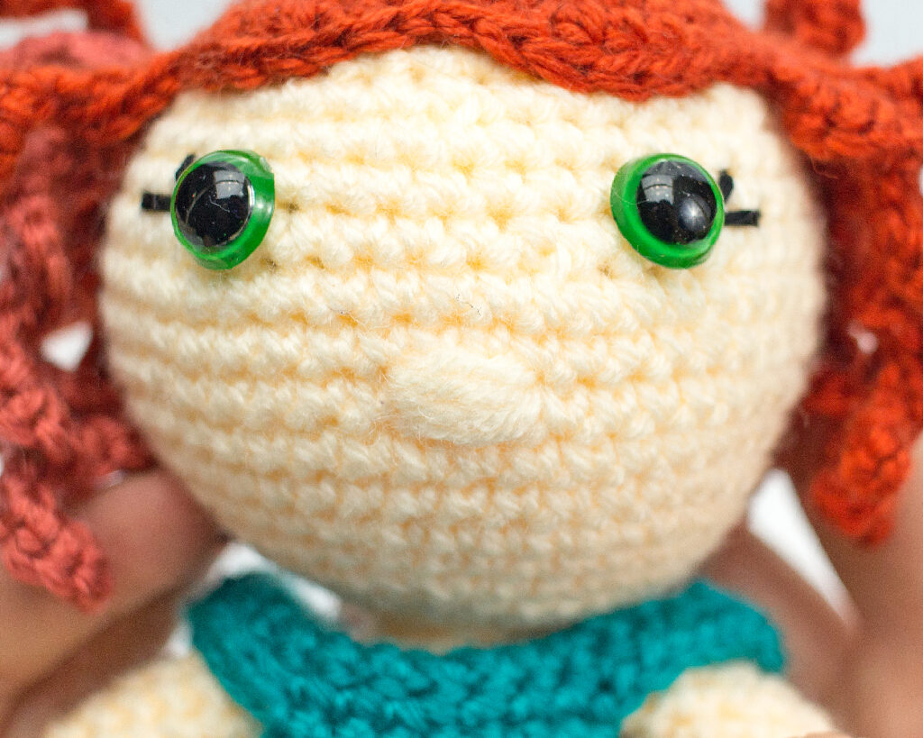 nose shaping for amigurumi cro | Crochet doll pattern, Crochet ... | 819x1024