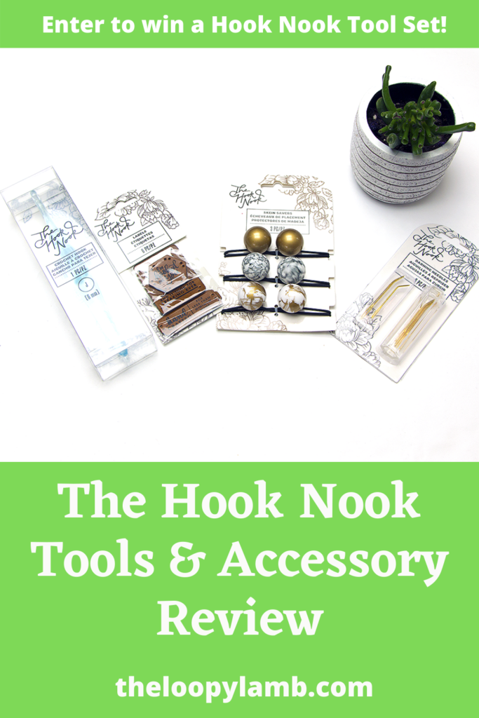 Hook Nook Tools next to a plant