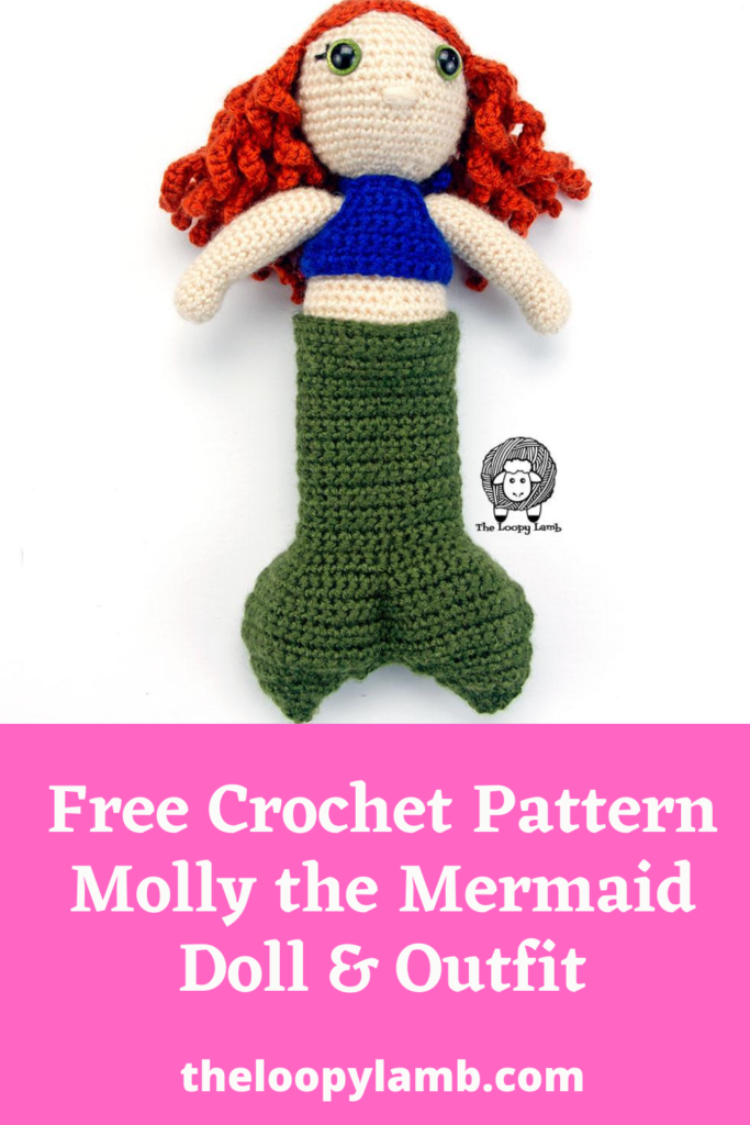 Crochet Mermaid Doll