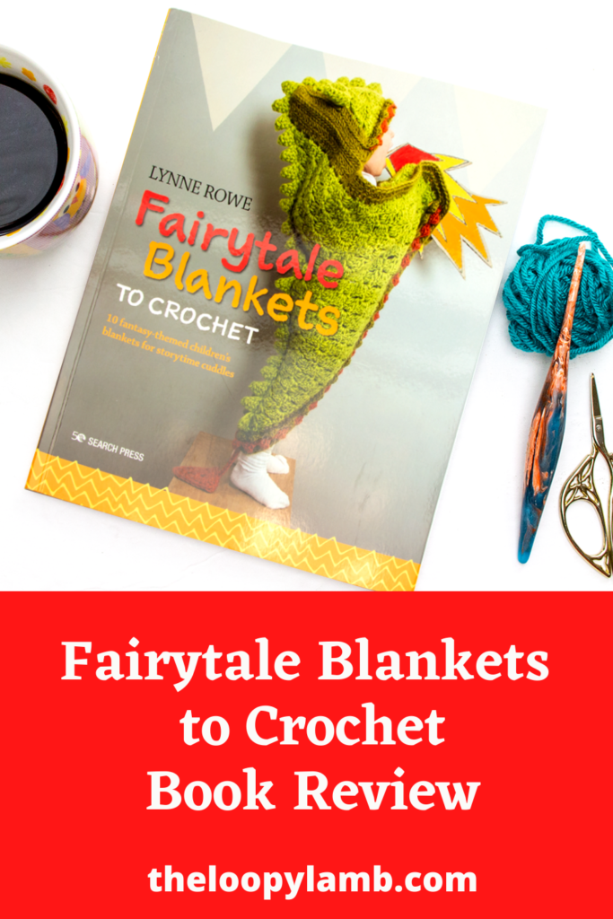 front cover of Fairytale blankets to crochet by Lynne Rowe