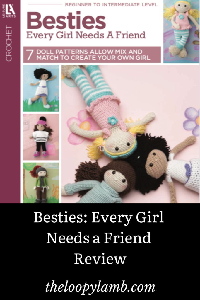 Front Cover Image of Besties: Every Girl Needs a Friend Pattern Book