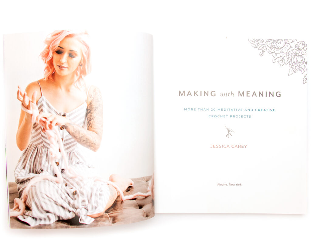 Inside cover of Making with Meaning