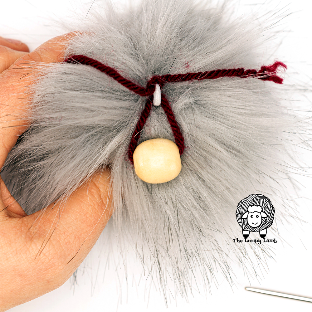 pompom with bead nose attachment