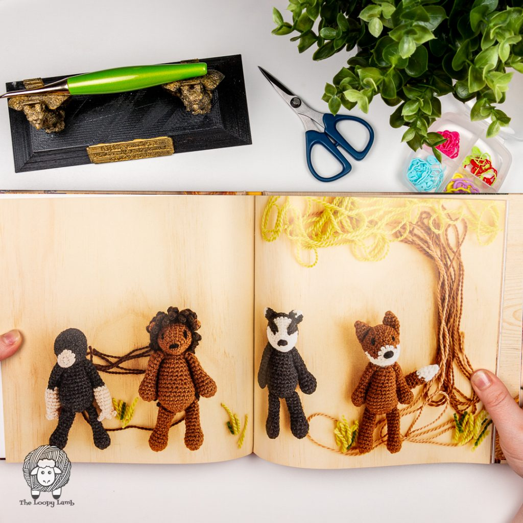 image of amigurumi farm animals from inside How to Crochet Animals: Farm by Kerry Lord