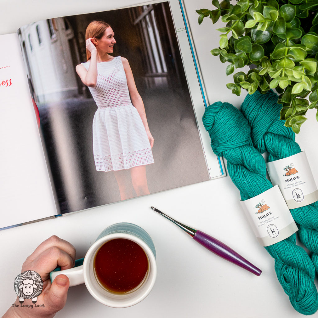 Crochet dress pattern from the Our Maker Life Book